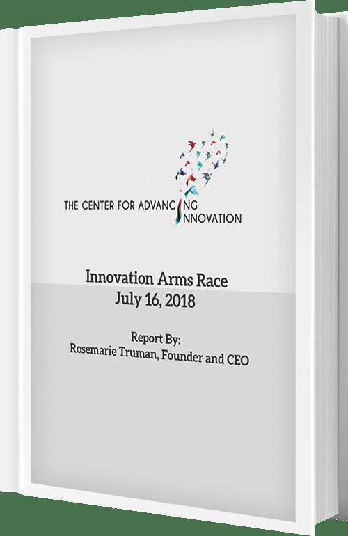 Innovation Arms Race 2018 eBook Cover