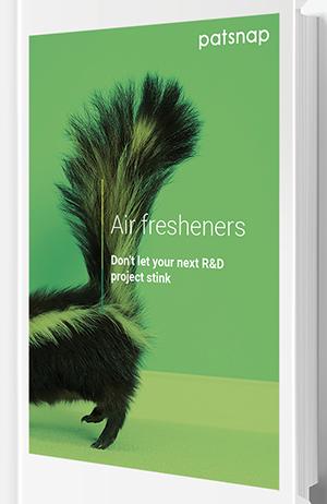 Air freshener R&D report cover