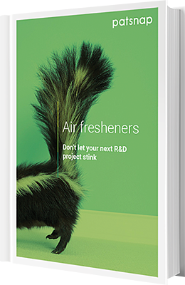 Air freshener R&D report cover