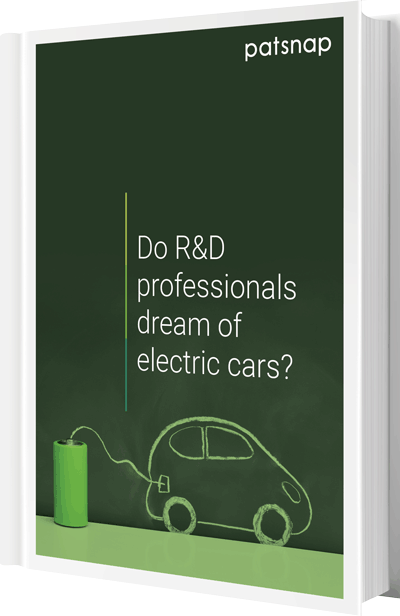 IP data report: Do research and development professionals dream of electric cars?
