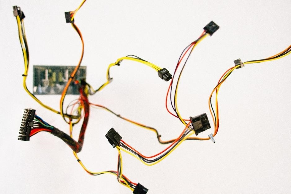 Wires and microchips for IoT device